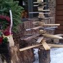 Reclaimed Christmas Tree