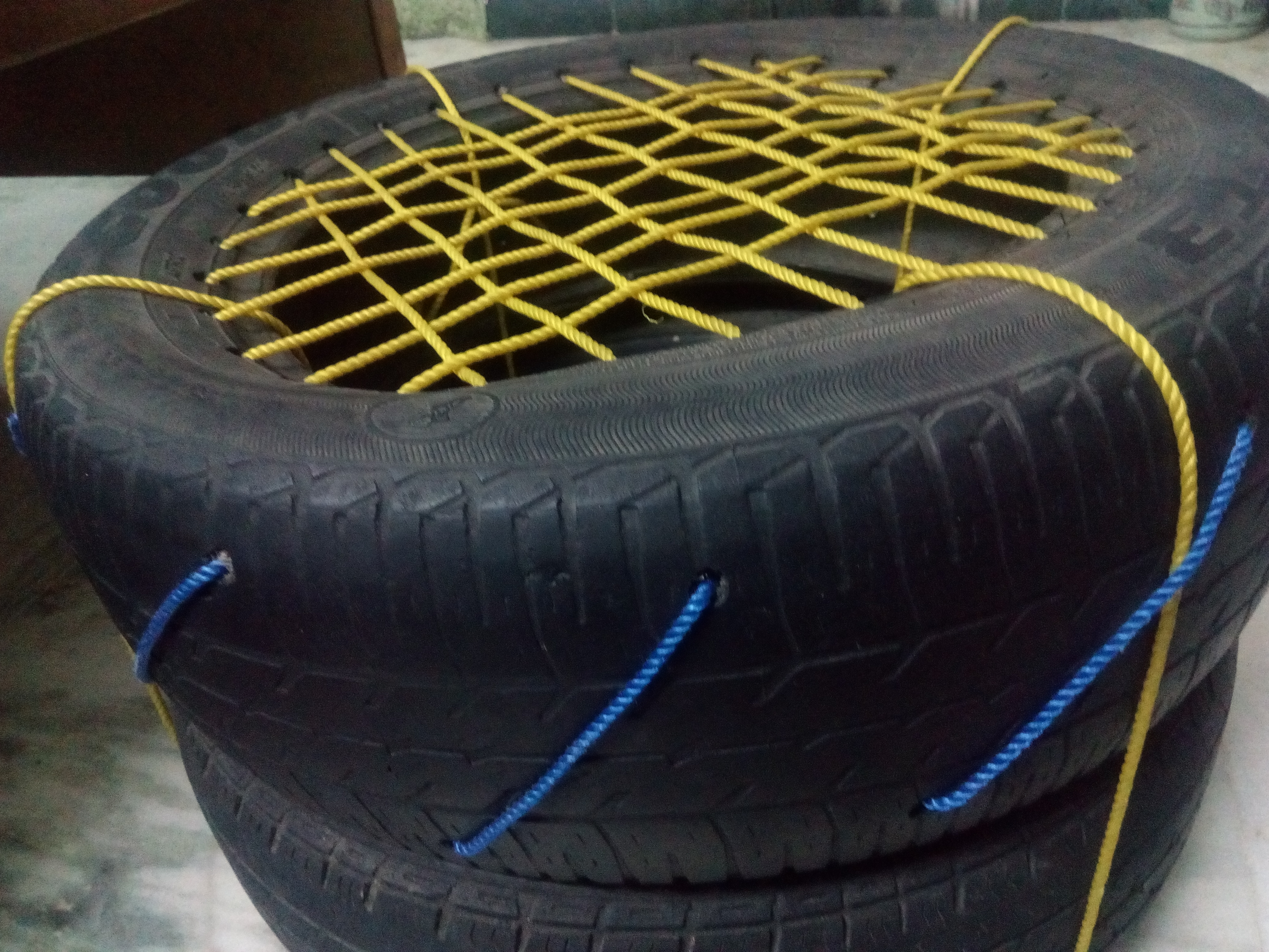 Picture of Tyre Chair (Simple and Easy)