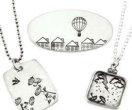 Collage Stamping With Danelle Street at Beaducation - Step by Step Jewelry Making Video Tutorials
