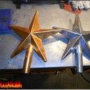 Aluminum star casting