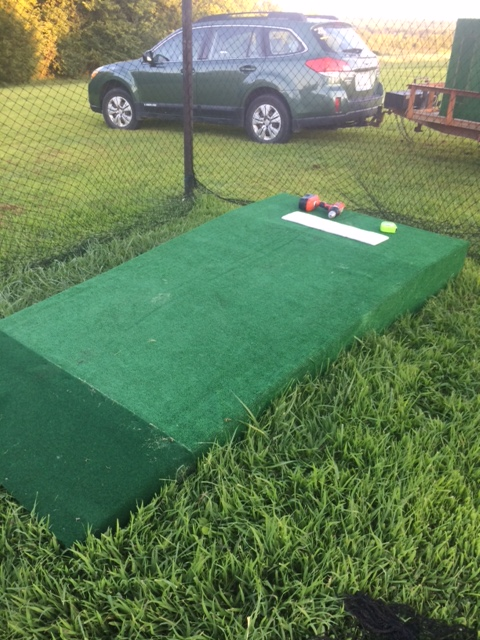 Picture of DIY Pitching Mound