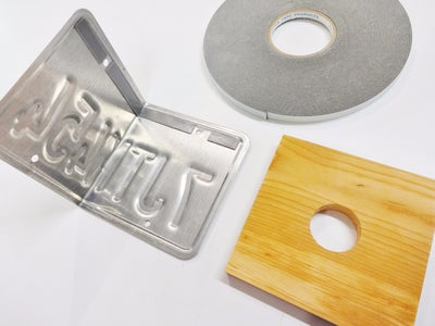 A Trick for Fastening Wood to Plates!