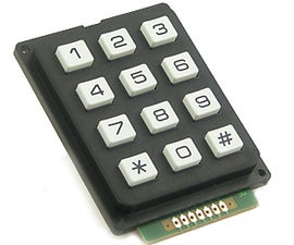 Using the sparkfun 12 Button keypad, with the arduino