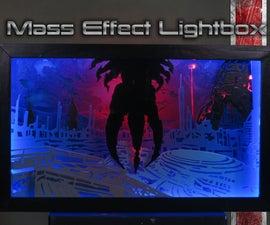 Mass Effect Scrollsawn Light Box