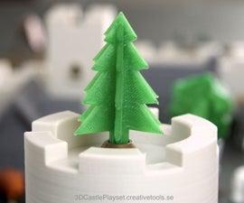 Simple 3D-printable Pine Tree