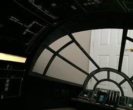 DIY Star Wars Millennium Falcon Cockpit Playhouse
