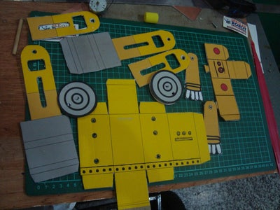 Making a Material Part