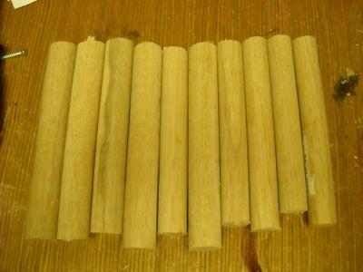 Cut Wood to Size, Shape.