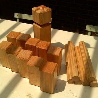 DIY Kubb Set