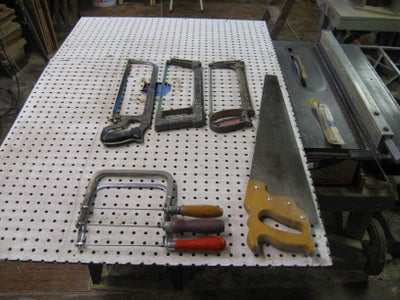 Lay Out Your Tools