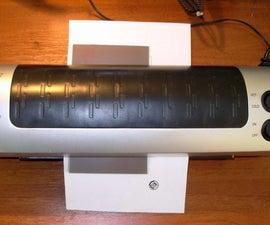 Modified laminator for PCB Toner transfer