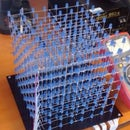 8x8x8 i2c LED cube