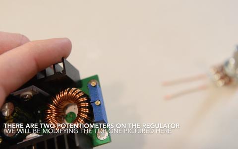 Wiring the Voltage Regulator Circuit