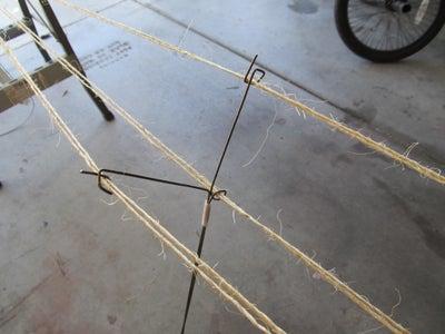 Rope Making Jig.
