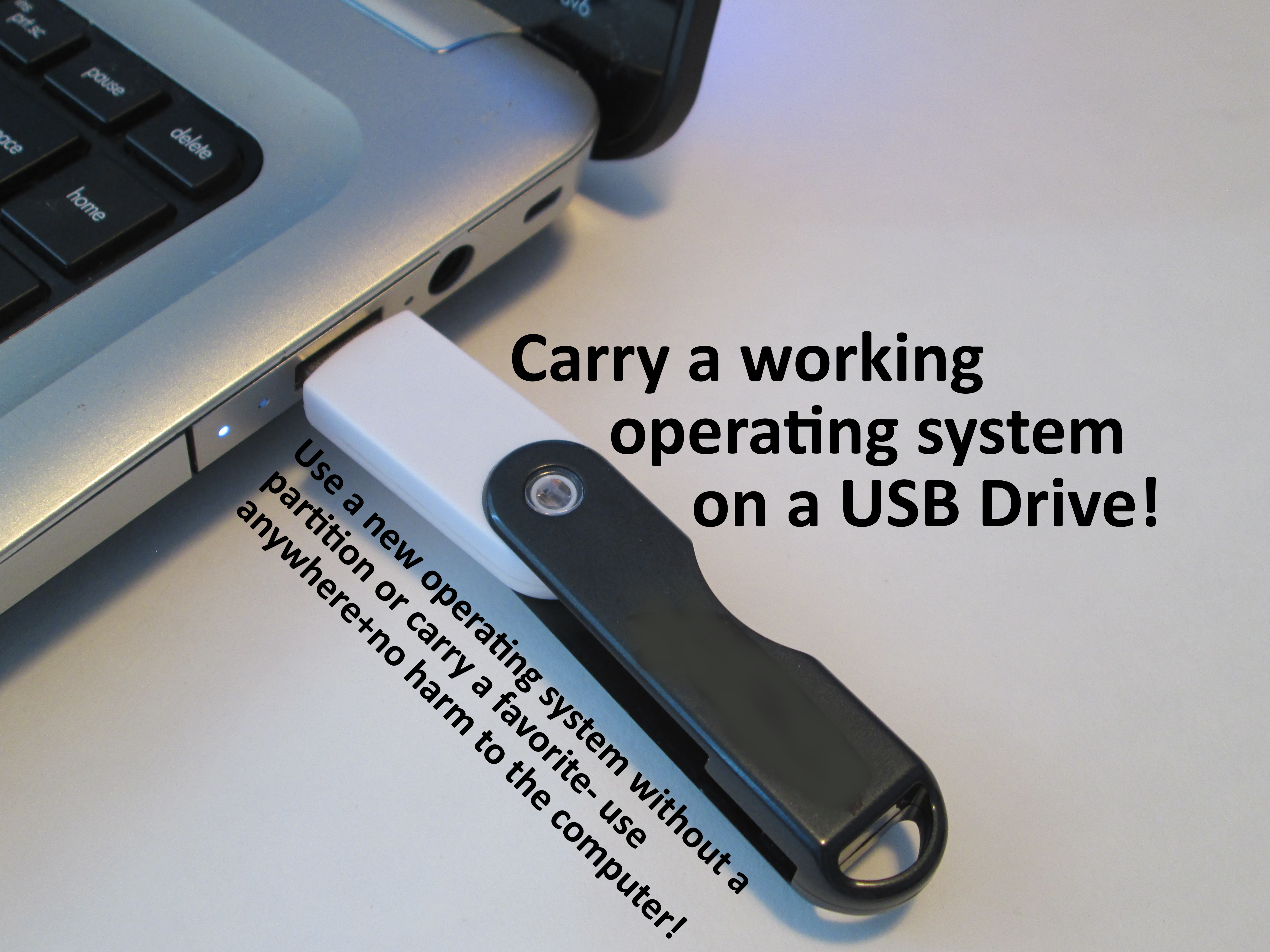 Picture of Make a Live USB to Boot From a USB Drive