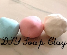 DIY Soap Clay for Hand Soaps