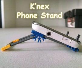 Micro K'nex Phone Stand