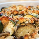 Organic Eggplant Gratin