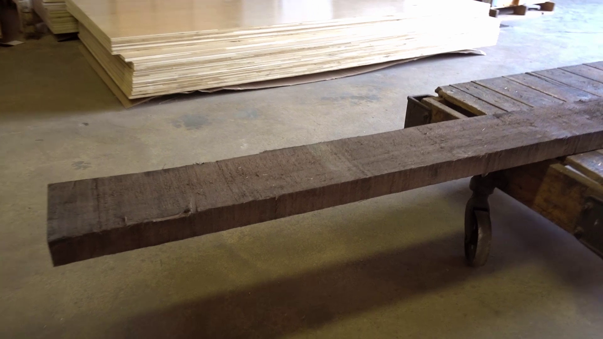 Picture of Process Lumber for Legs