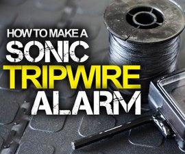 Sonic Tripwire Alarm