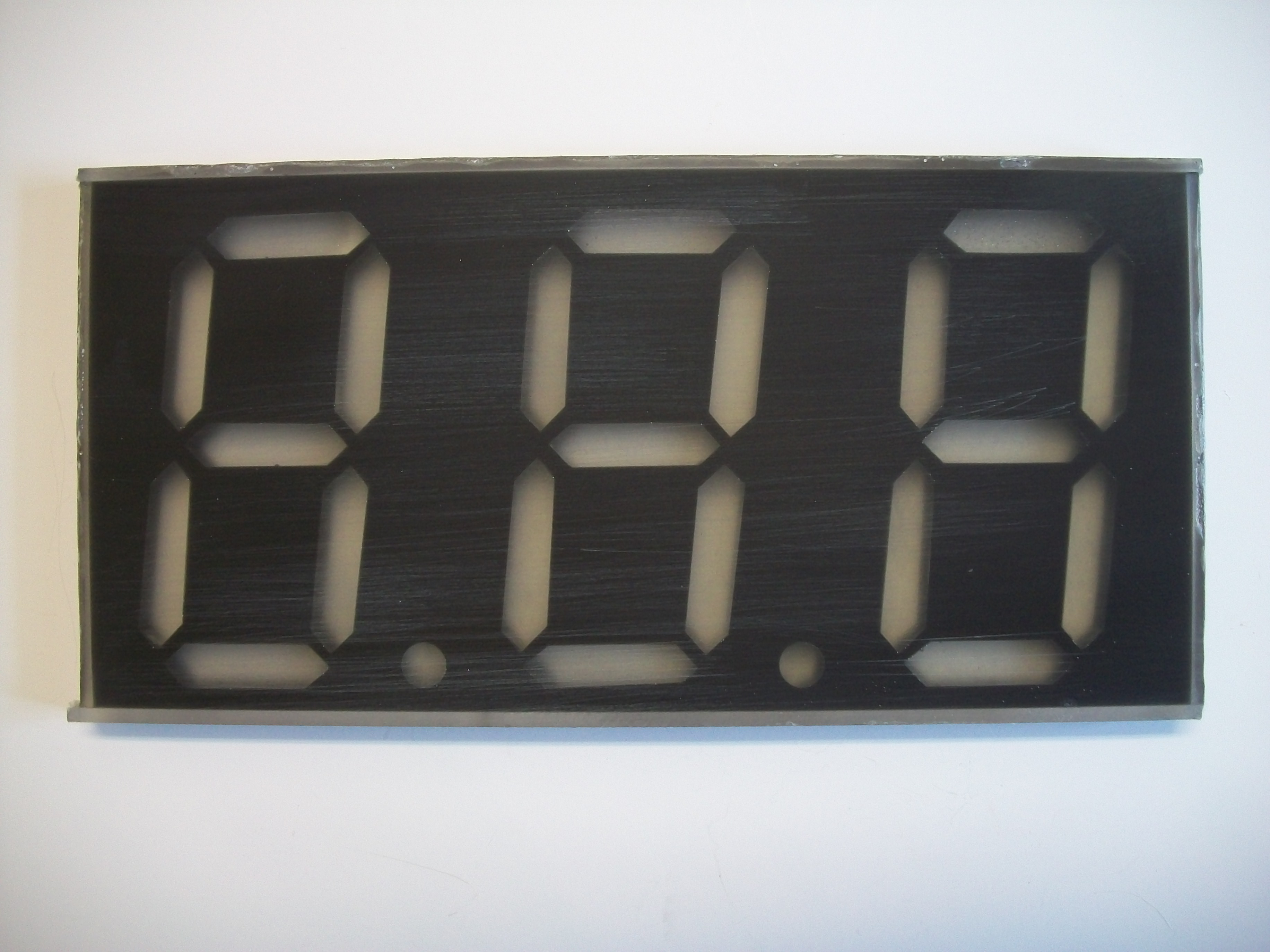Picture of Digit Plate Finish Up
