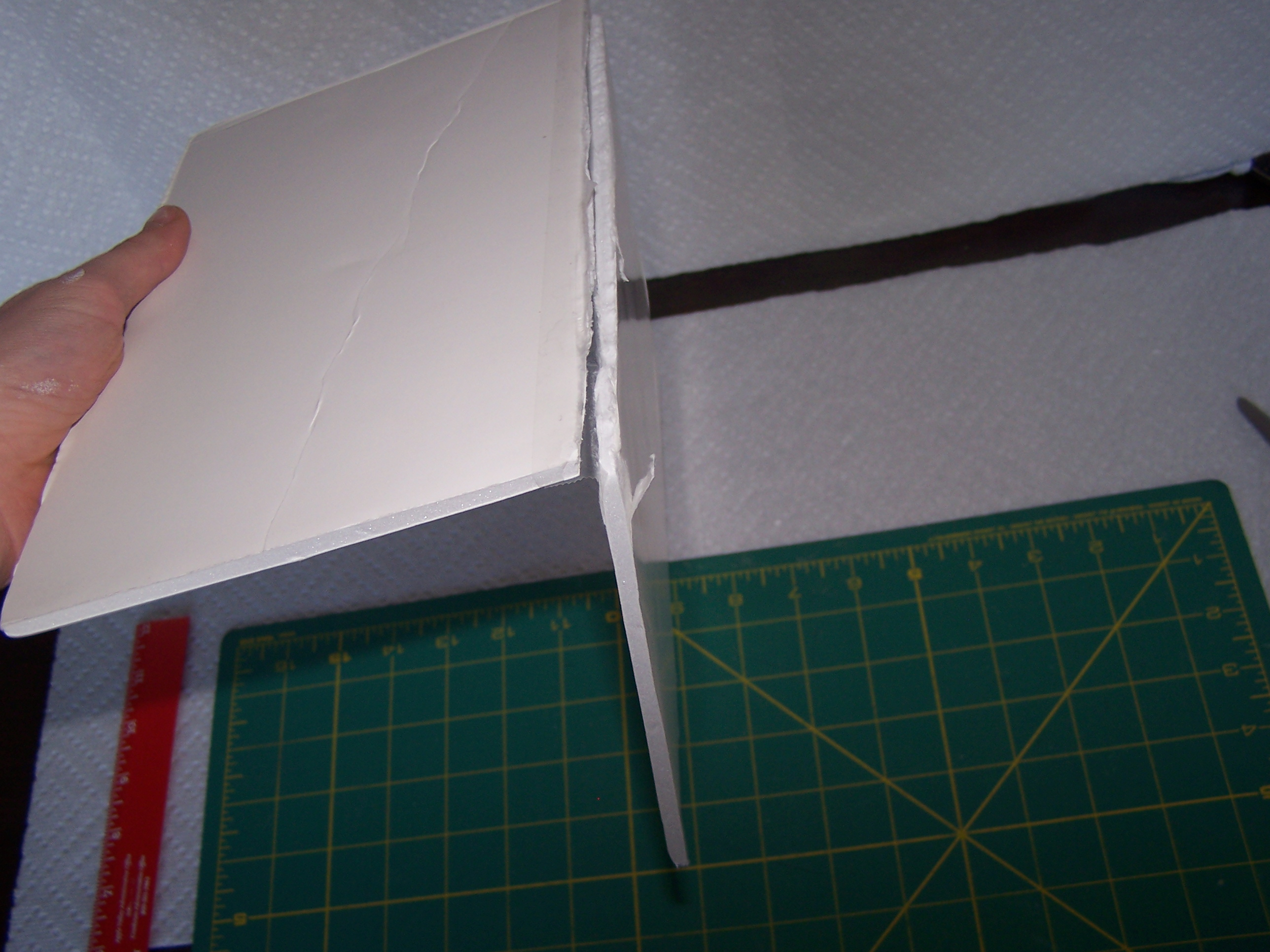 Picture of Making the Journal: Making the Base of the Cover