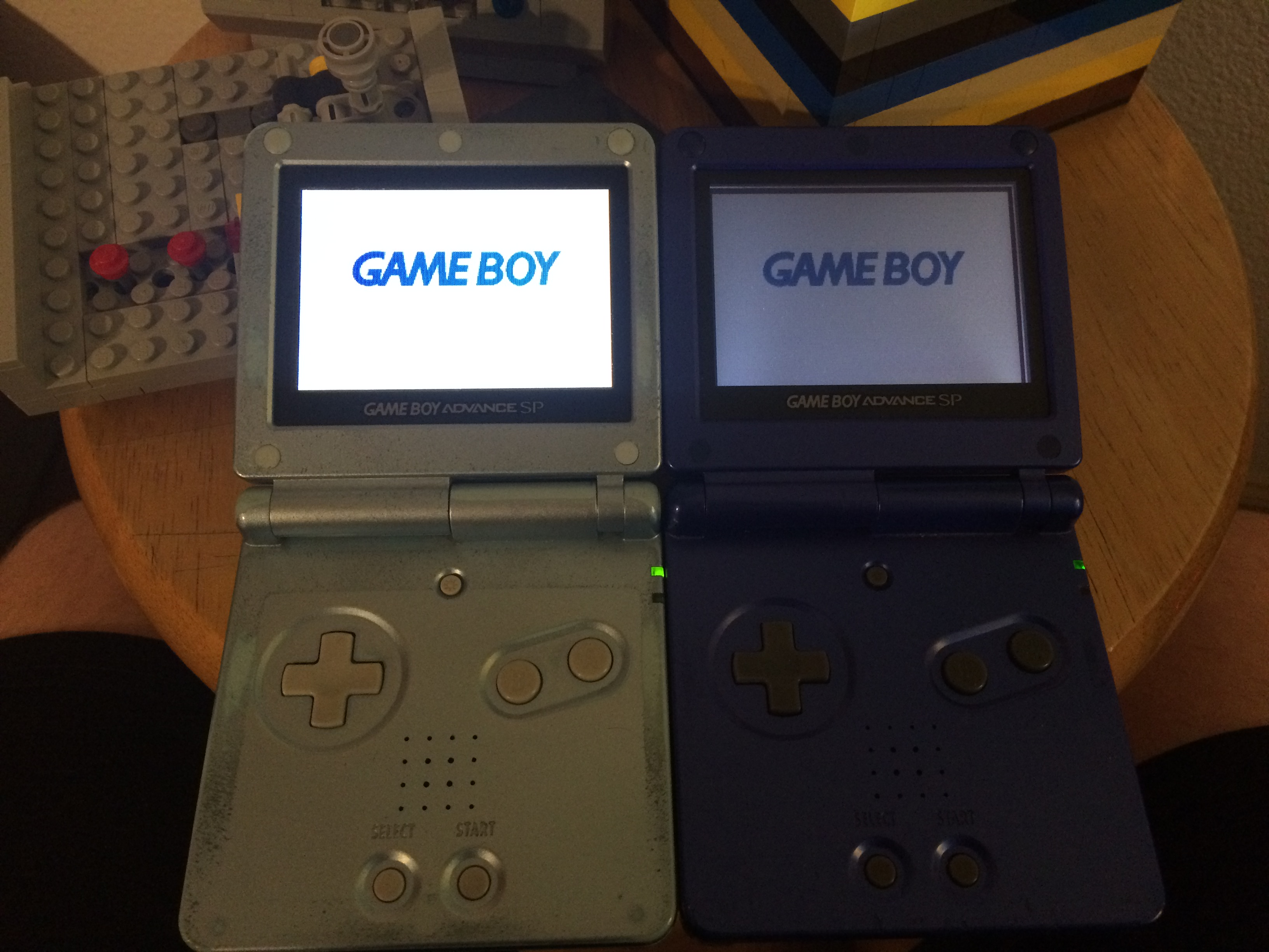 Picture of Picking a Game Boy Advance