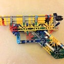 "DJ Radio's ""The Blueprint."" - Simple K'Nex Beginner Pistol."