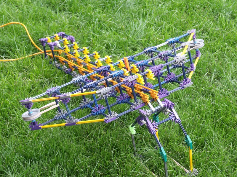 Picture of Small K'nex Crossbow