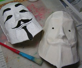 VENDETTA mask - make it your own.