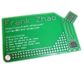 USB PCB Business Card
