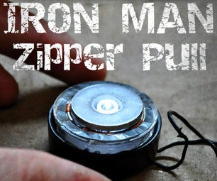 Iron Man Zipper Pull!!!