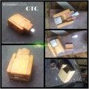 Wooden USB OTG