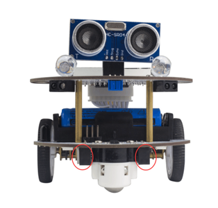 Coding the Robot and Making It Move
