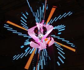 n00tron 3D Spherical Volumetric Display - Interactive Exhibit