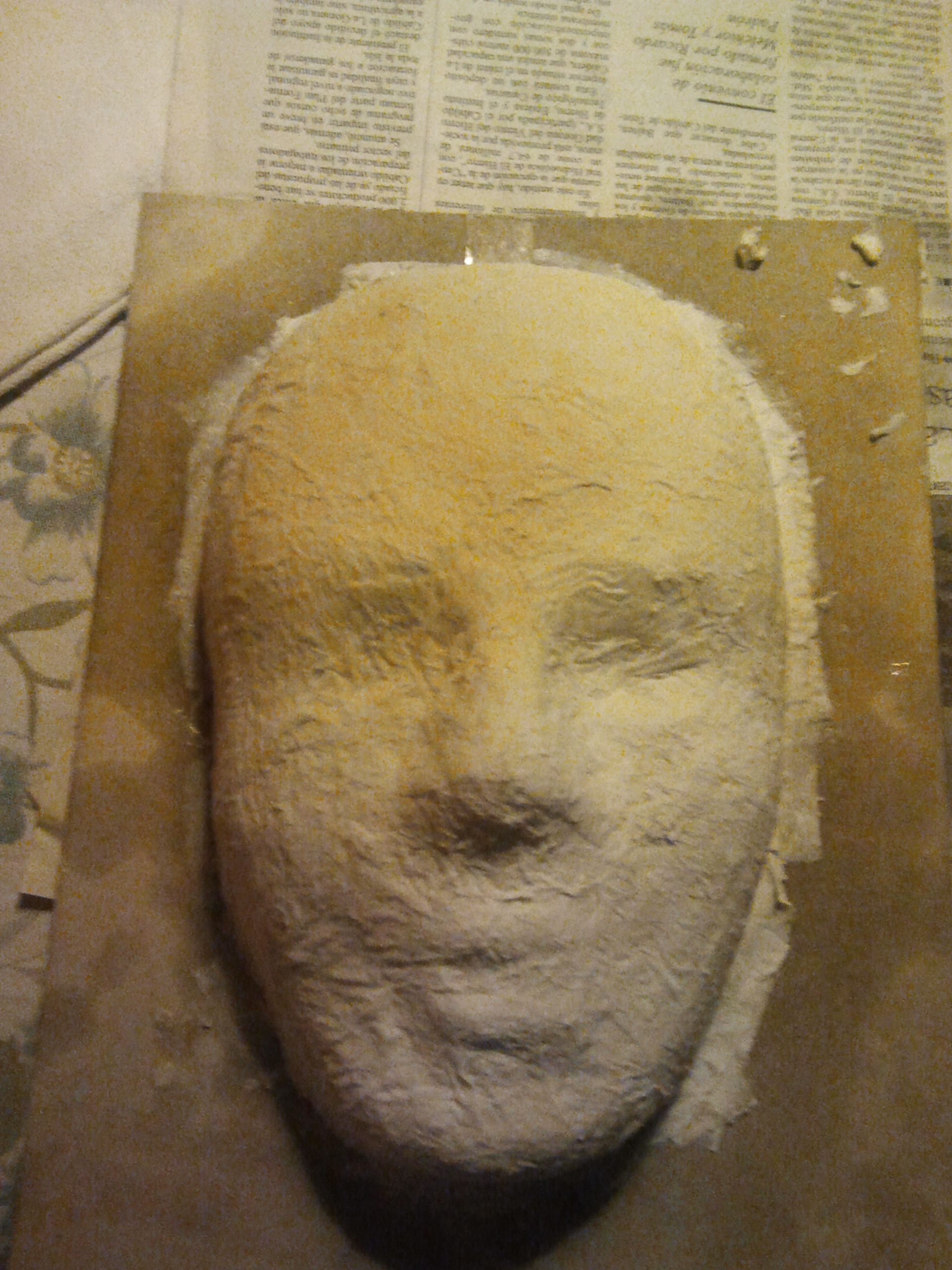 Picture of Making the Shape of the Mask