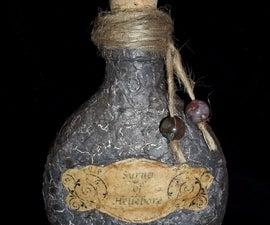 Eggshell-Covered Potion Bottle