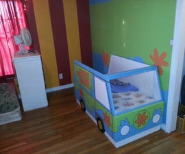 Scooby-Doo Mystery Machine Toddler Bed