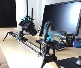 My first DIY: Simplest speed controllable Camera Slider on Youtube?