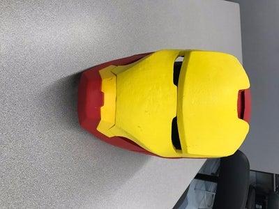 3d Printed Iron Man Helmet
