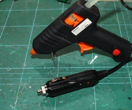 DIY 12v Hot Glue Gun