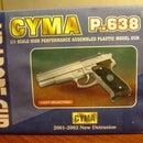 Airsoft pistol mod. CYMA P.638