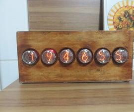 Nixie Tube Clock Case