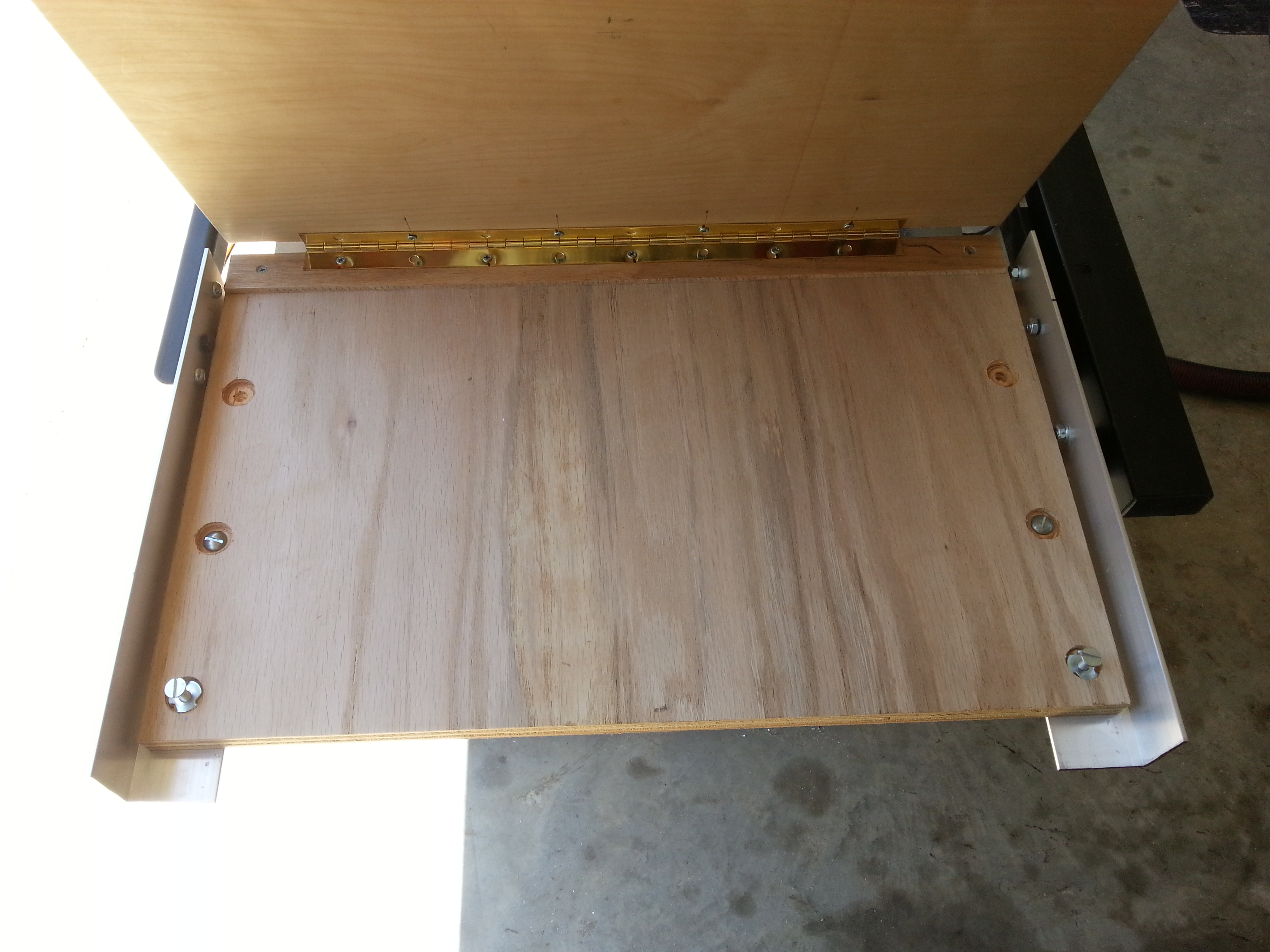Picture of Cut Base, Top, Attach With Hinge, and Align