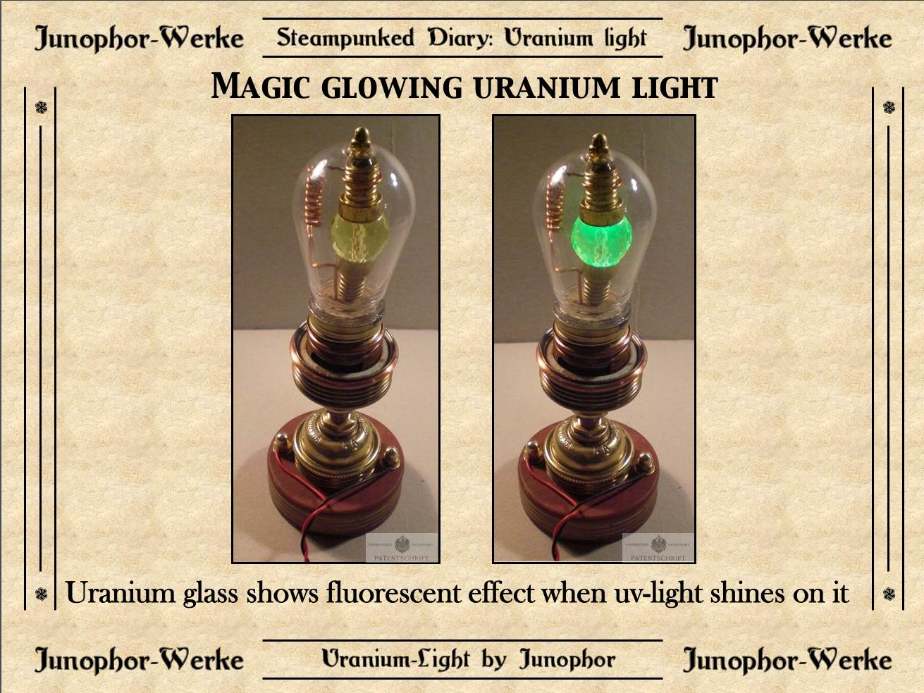 Picture of Steampunked Magic Uranium Light