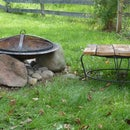 Modify Your Store Bought Iron Fire Pit