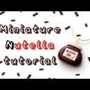 DIY Mini Nutella Polymer Clay Jar