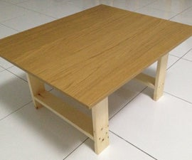 Ikea Coffee table Hack