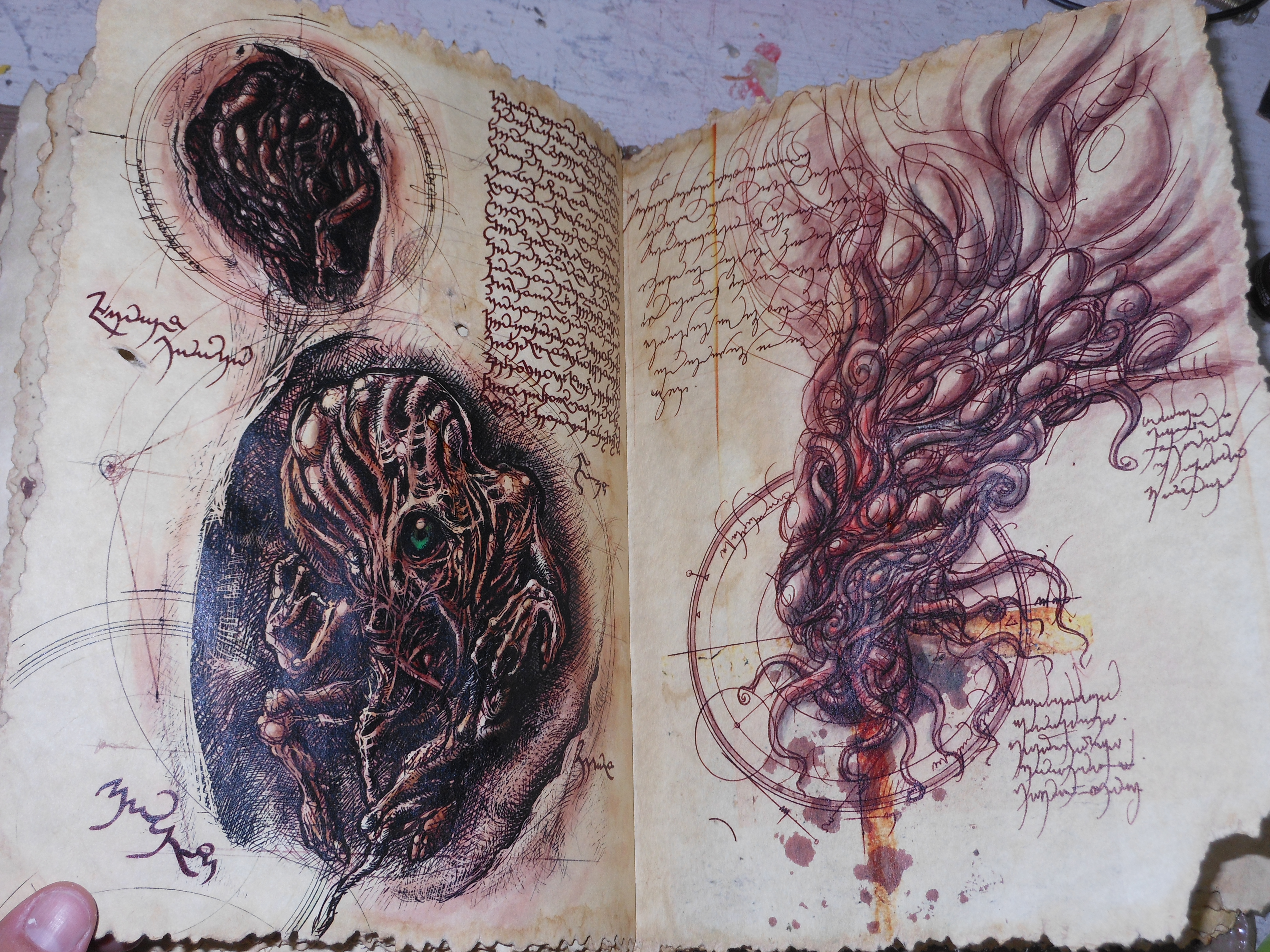 Picture of Necronomicon Ex Mortis:  the Book of the Dead!