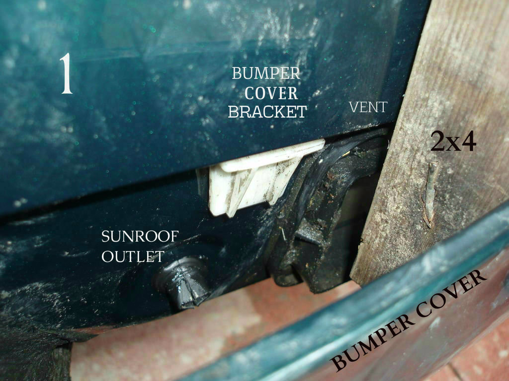 Picture of Remove the Bumper Cover